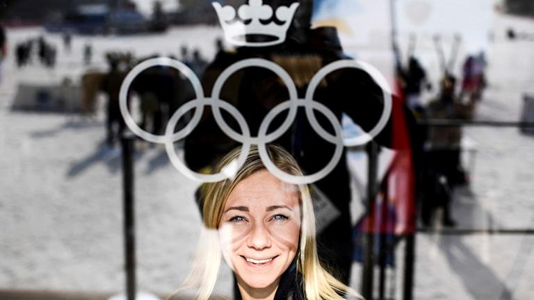 Frida Hansdotter från Norberg får vänta på att tävla i OS.