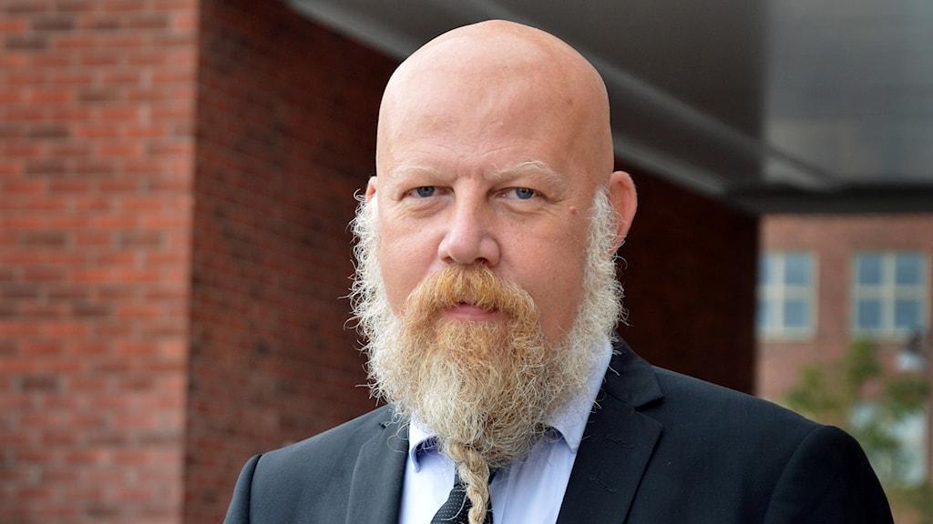 Chefredaktör Daniel Nordström.