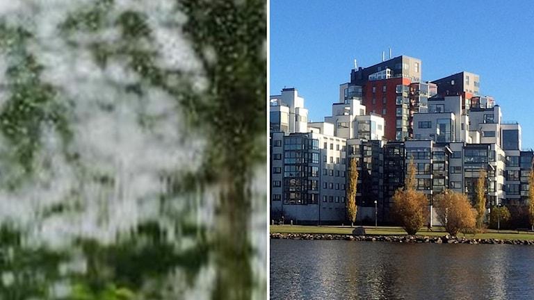 Regn orsakade vattenskador i Mimerlägenheter på Lillåudden i Västerås