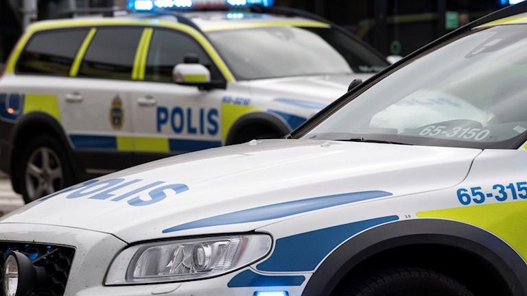 Flera patruller skickades till platsen