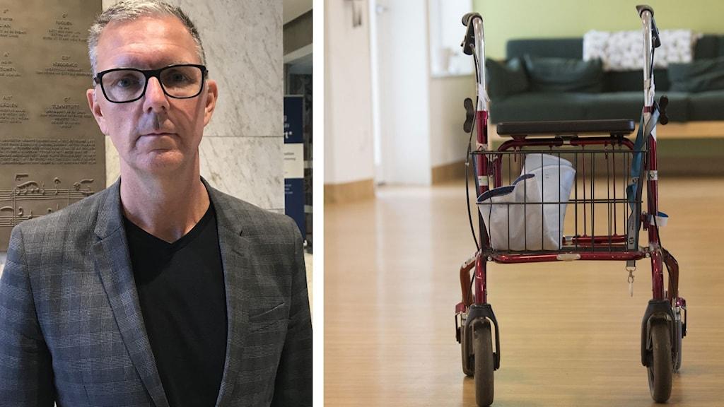 Tobias Åsell, direktör på vård- och omsorgsförvaltningen i Västerås.