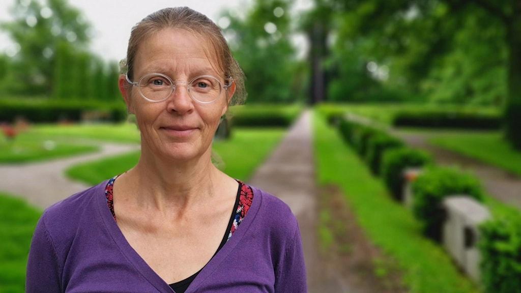 Rebecka Svensson kulturhistoriker på Svenska kyrkan i Västerås.