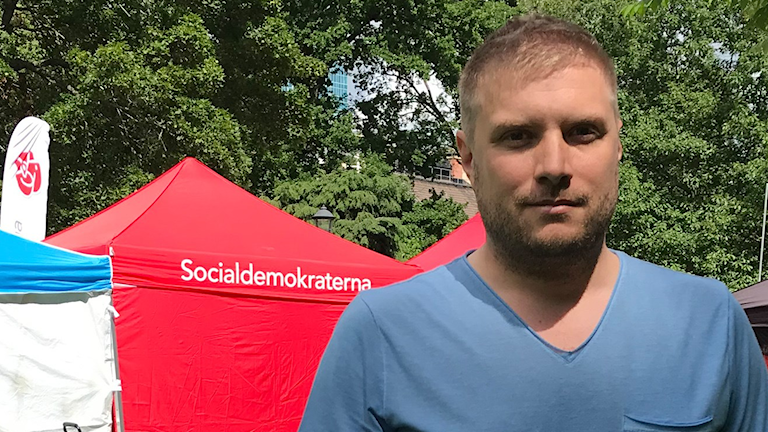 Jonas Cronert, (S) förste vice ordförande i äldrenämnden Västerås Stad.