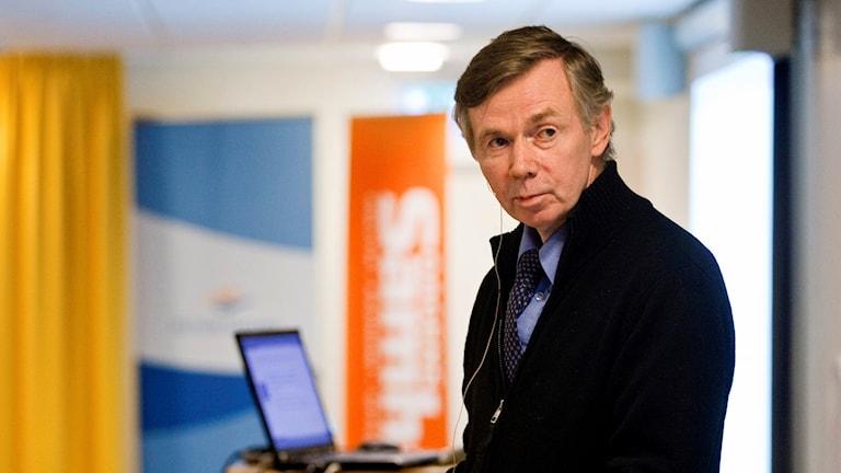 Stellan Lundström, professor emeritus i fastighetsekonomi på Kungliga Tekniska högskolan (KTH)