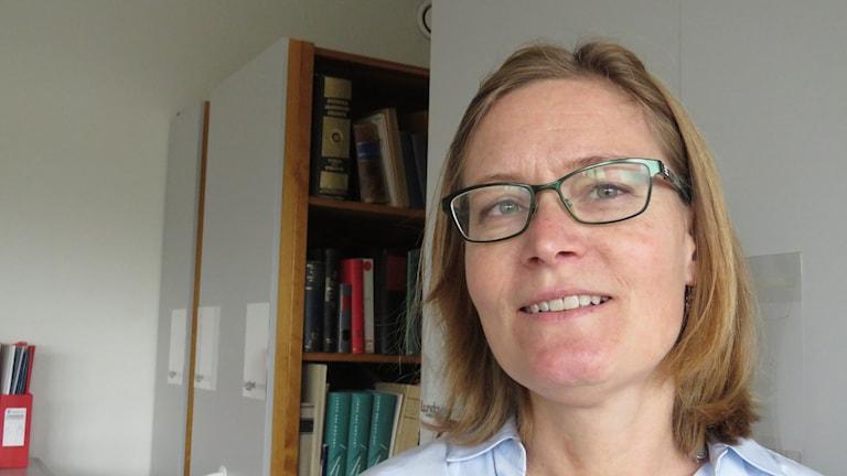 Ulrika Gustafsson, stadsarkivarie på Västerås Stad