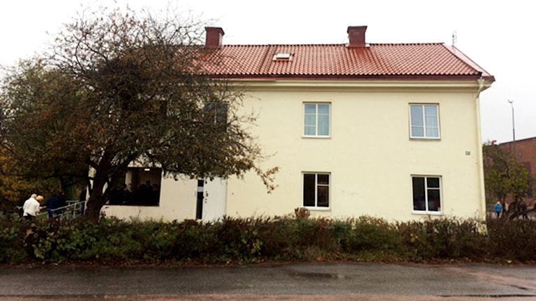Härberget Gula Villan i Hallstahammar.