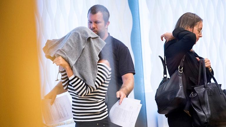 Häktningsförhandling mot den 41-åriga kvinna som är misstänkt för mord.