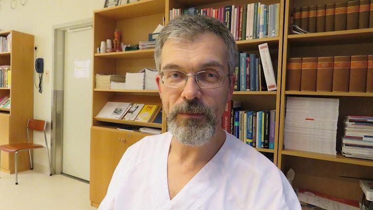 Mats Stenberg, ordförande i Västmanlands läkarförening.