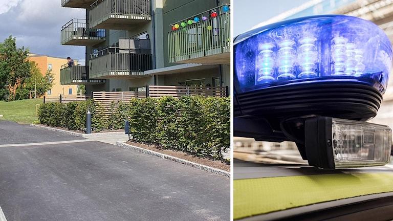 polisinsats/Stångjärnsgtan på Bäckby