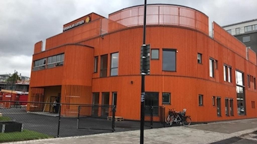 Förskola på tak i Karlstad