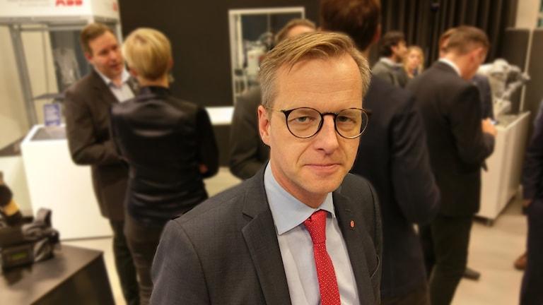 Mikael Damberg, närings- och innovationsminister