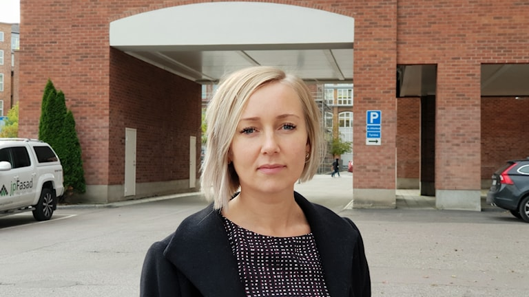 Marie Energård, ordförande för Kommunal i Västerås
