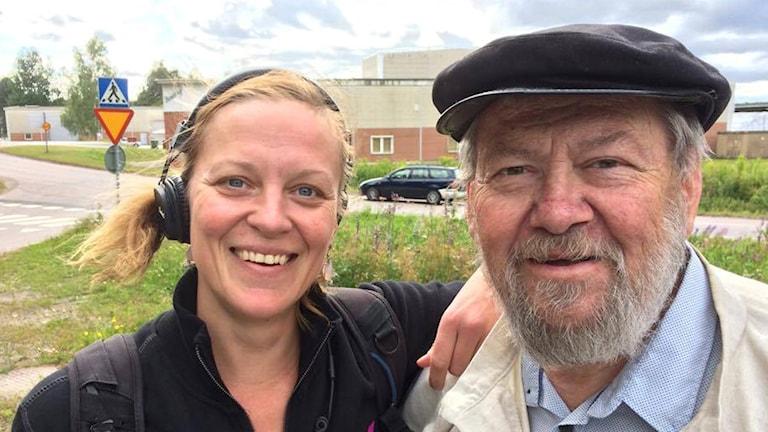 "Tommy ""tompa"" Berglund och Sandra Fonnisson"