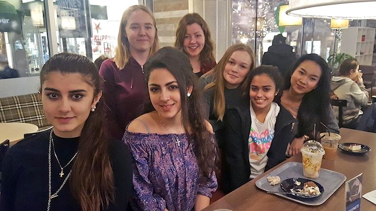 Gymnasieelever på Carlforska i Västerås