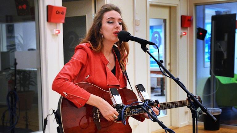 Sabina Chantouria på Radioscenen.