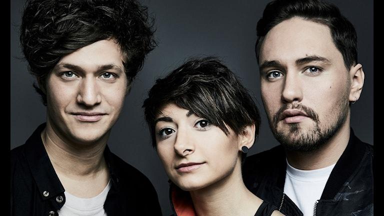 Trion bakom vinnarlåten Herman Gardarfve, Melanie Wehbe & Patrik Jean