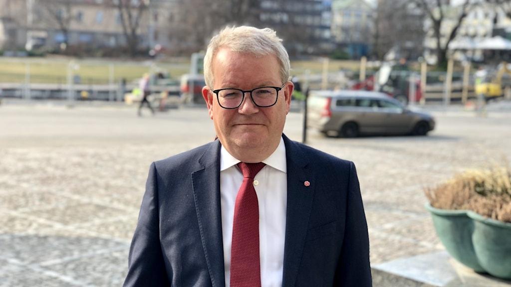 Anders Teljebäck (S), kommunstyrelsens ordförande i Västerås.