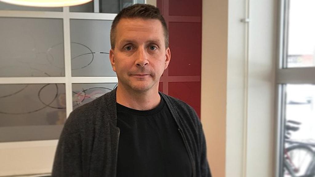 Marino Wallsten (S) kommunstyrelsens ordförande i Fagersta.
