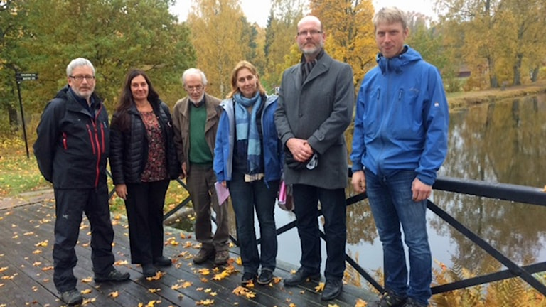 Bengt Hultin, Catarina Pettersson, Anders Tollin, Ann-Charlotte Duvkär, Christer Andersson och Johan Axnér.
