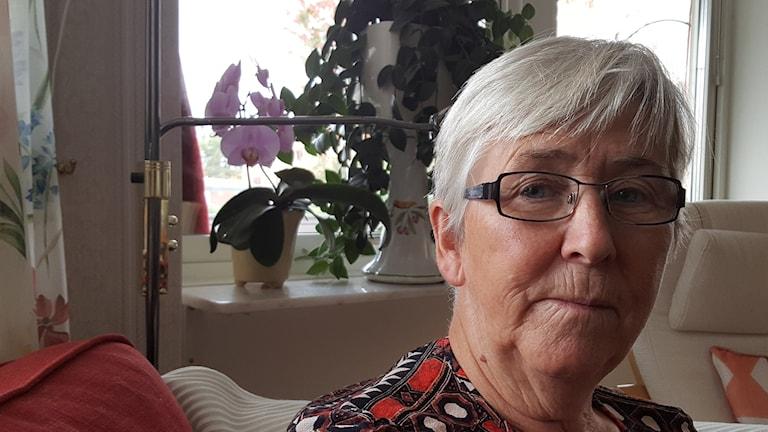 Margareta Johnssons man fick en allvarlig hjärtinfarkt
