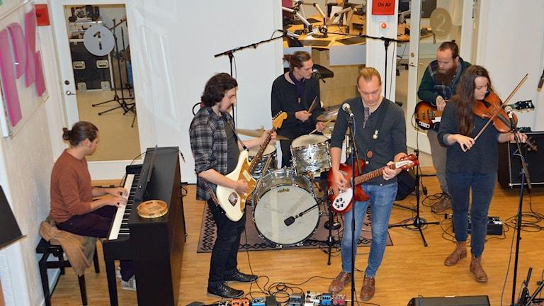 Bandet Marcus Cederlöf och Stick i Stäv.
