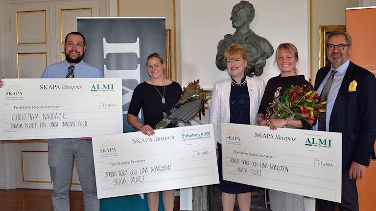 Årets SKAPA-pristagare i Västmanland.