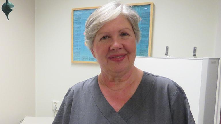 Marie Larsson barnmorska.