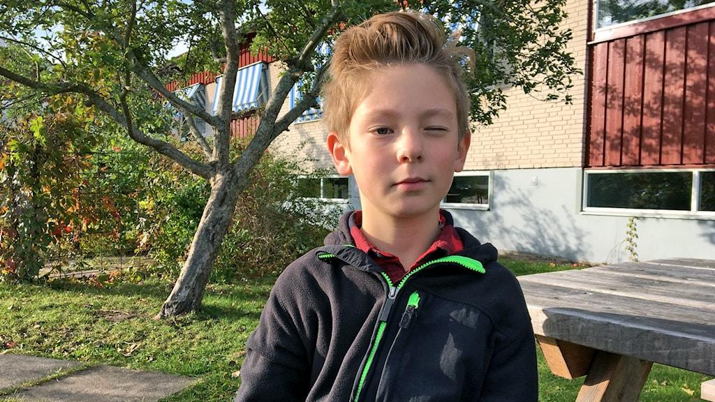 Anton Hjorth i Strömsholm, en av #tiomiljoner.