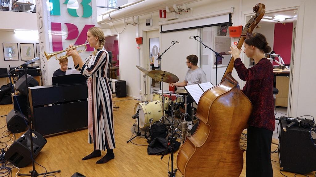 Linnea Jonsson Quartet på Radioscenen.