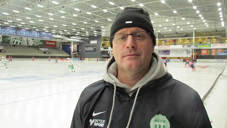 Fredrik Plan tränare VSK Bandy Dam