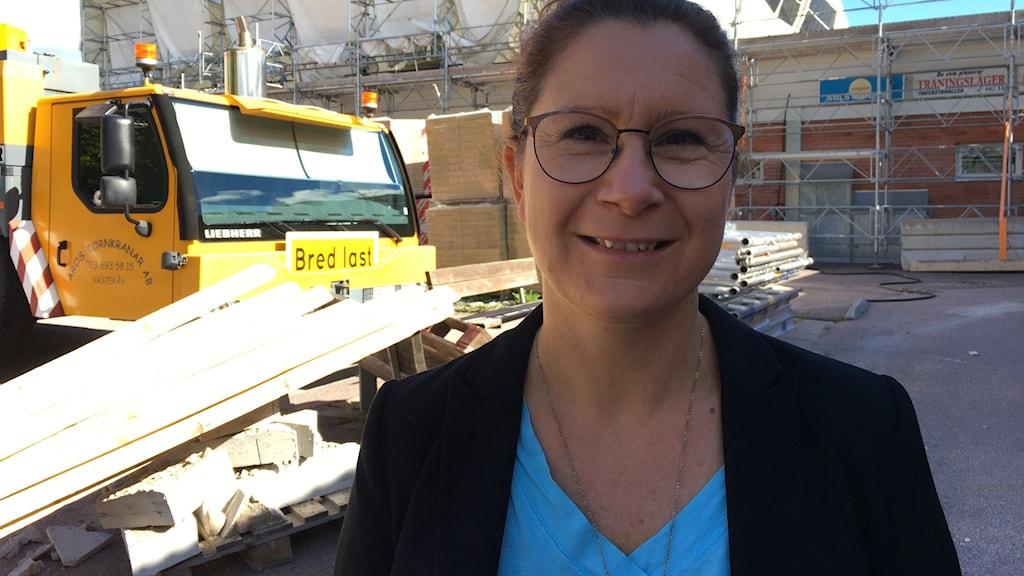 Anna Ericson, sporthallschef.