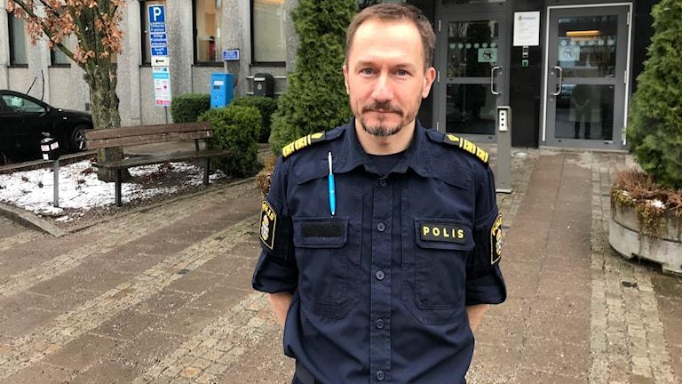 Robert Wallén, polisområdeschef Västmanland.