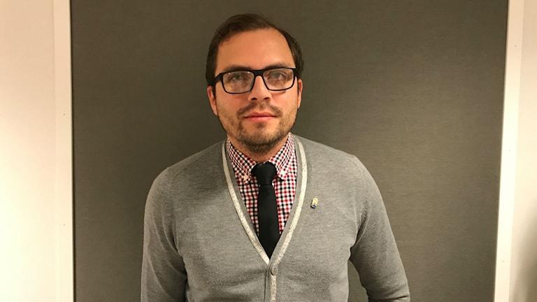 Daniel Gamboa Esquivel, utvecklingsledare för integrationsfrågor på länsstyrelsen i Västmanland