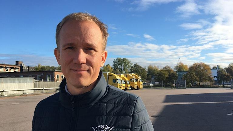 Ingemar Resare regionchef på Sveriges Åkeriföretag