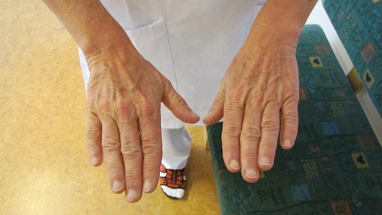 Rena händer i vården
