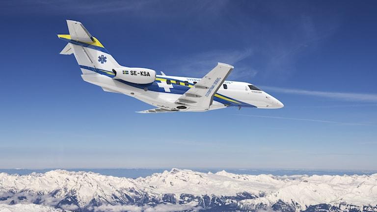 Planen är av modellen Pilatus PC-24