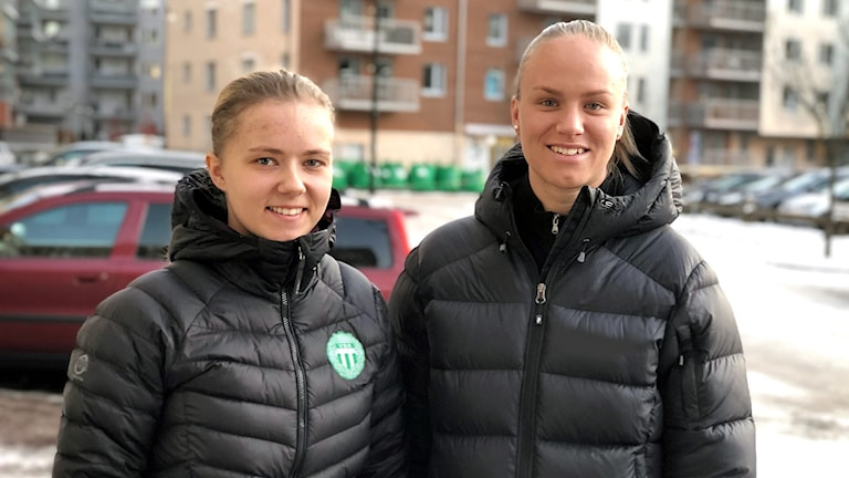 Linda Lohiniva och Matilda Plan i VSK.
