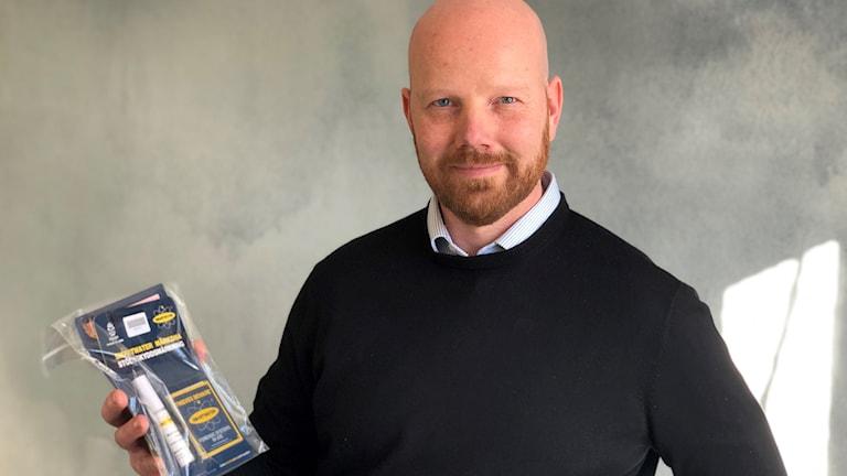Patrik Olsson, vd Kyrkans försäkringar
