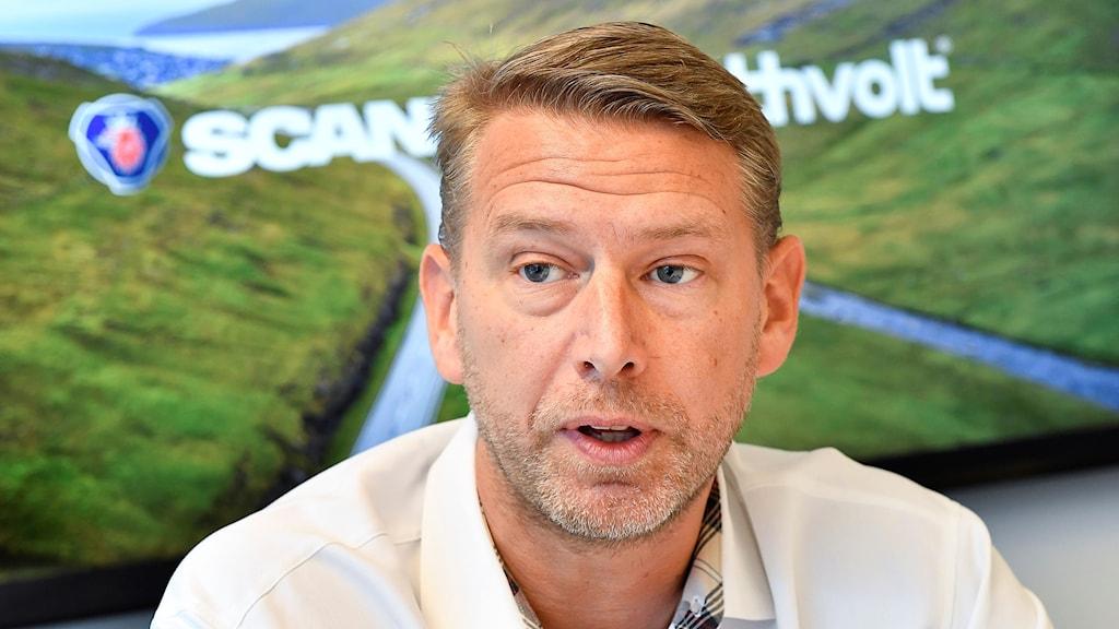 Northvolts vd Peter Carlsson.