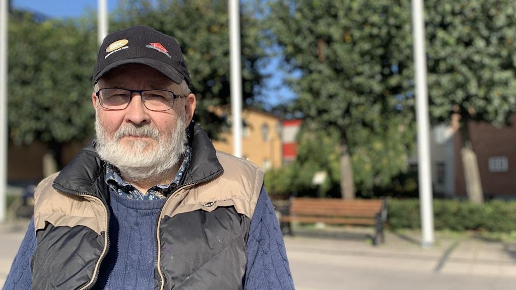 Göran Stolpe, vice ordförande i Pensionernas Riksorganisation, PRO, i Arboga