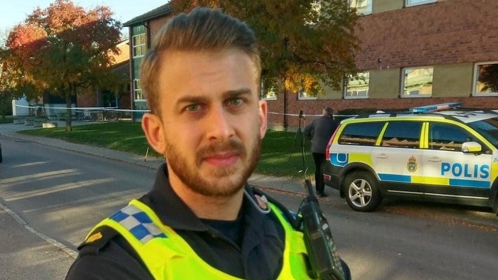Johan Thalberg, presstalesperson polisregion Mitt.