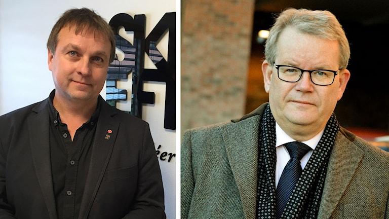 Lorents Burman (S), Skellefteå och Anders Teljebäck (S), Västerås om Northvolt.
