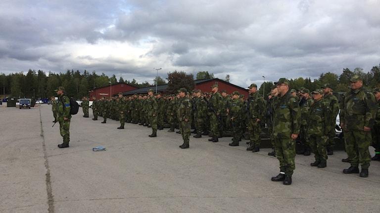 Västmanlands hemvärnsbataljon deltar i Aurora 17