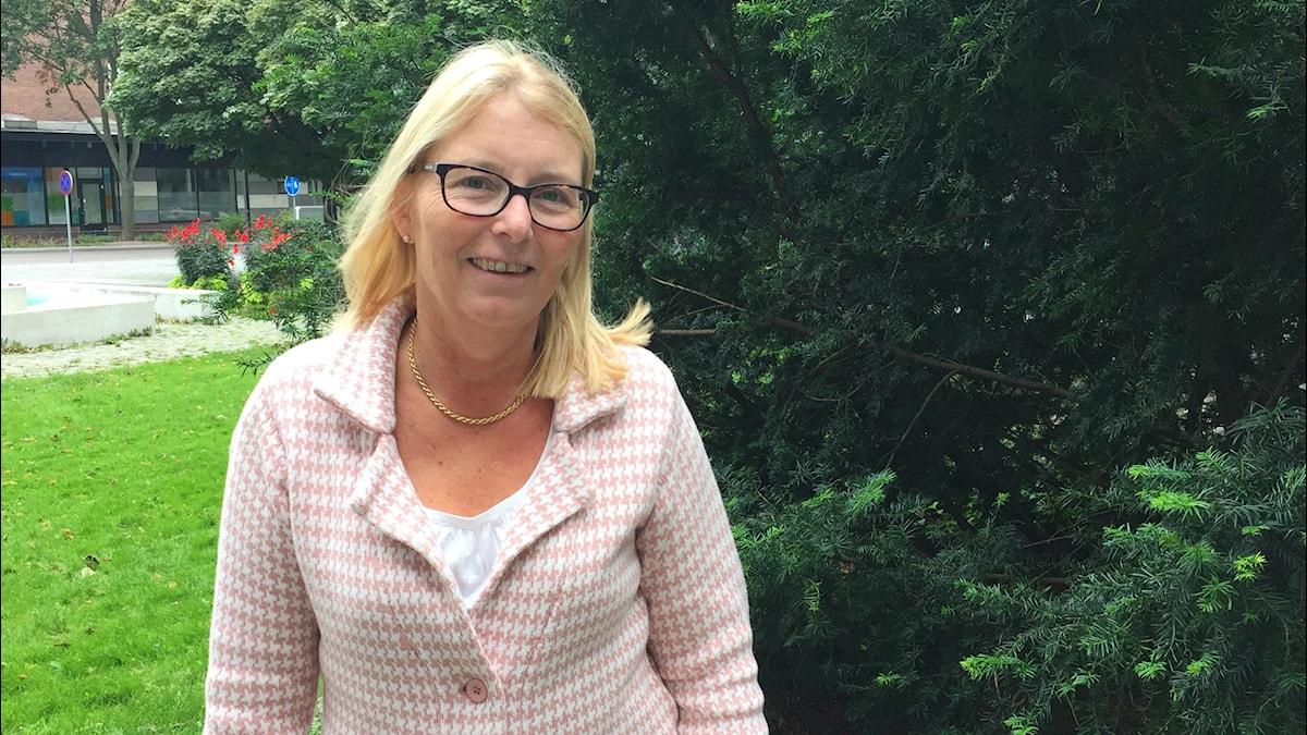 Elisabeth Unell, moderat oppositionsråd i Västerås.