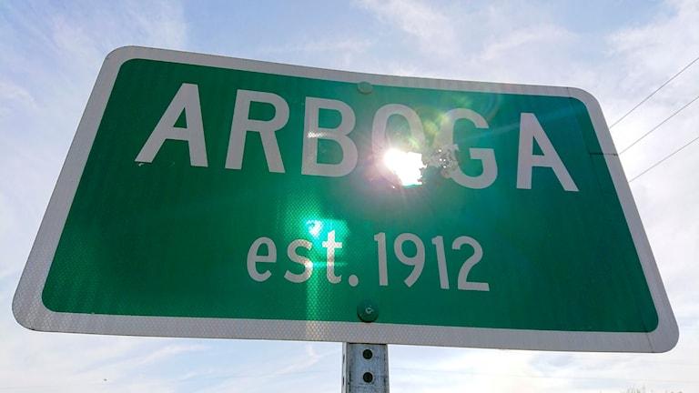 Arboga i Kalifornien