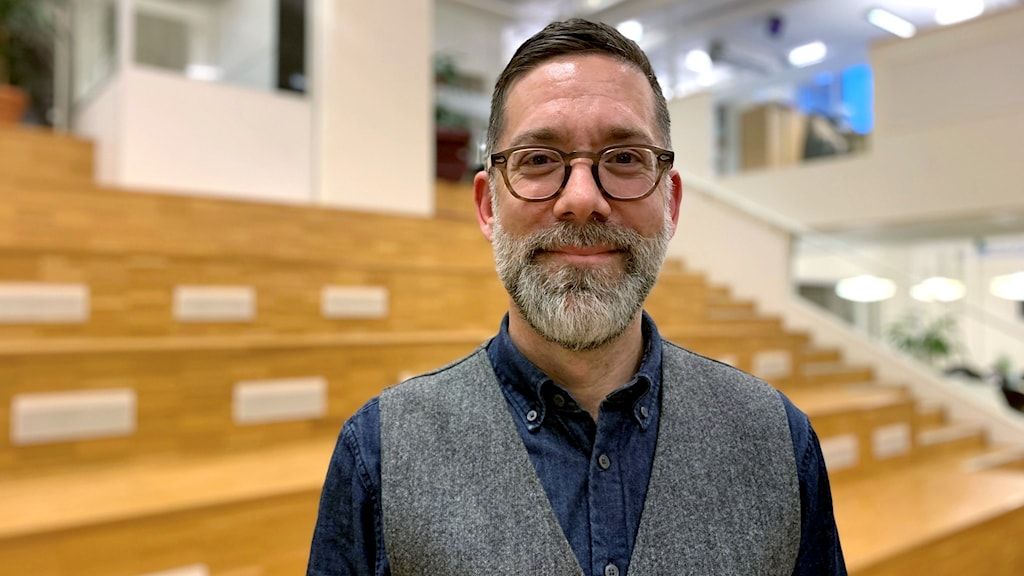 Jonas Ekström, överläkare och ansvarig för covid-19-vaccneringen i Region Västmanland