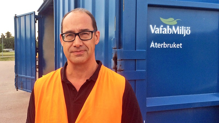 Karl Doverfelt, enhetschef på VAFAB Miljö.