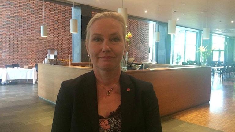 Anna Johansson (S), infrastrukturminister.