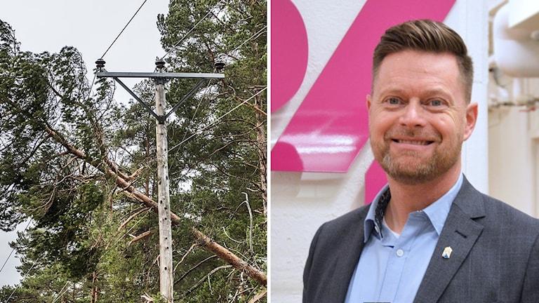 Dennis Lindberg försvarsdirektör på länsstyrelsen i Västmanland