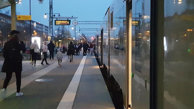 Tåg tågförseningar